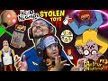 HELLO NEIGHBOR TOYS Stolen By Crazy Cartoon!  Escape His House = Get Them Back (FGTEEV Challenge)