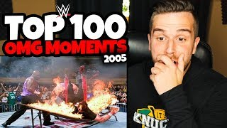 WWE TOP 100 OMG MOMENTS OF 2005