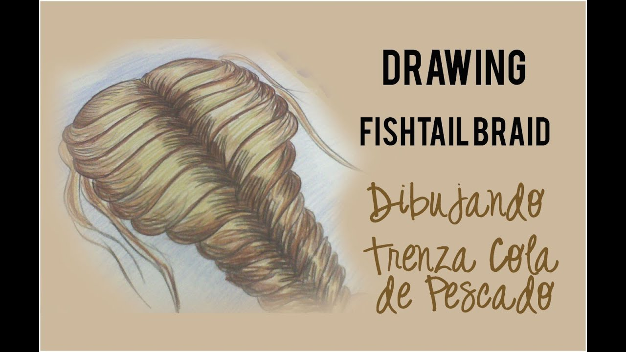Fish Tail Drawings Drawing Fishtail Braid/
