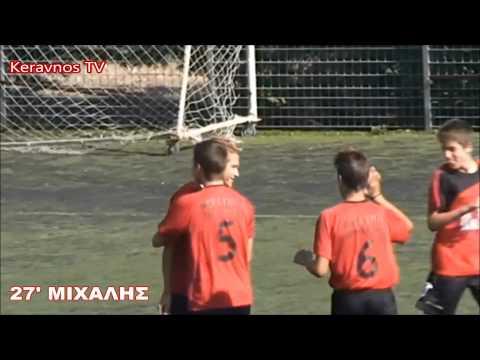 ΘΥΕΛΛΑ ΠΕΡ- ΚΕΡΑΥΝΟΣ ΠΕΤΡ 0-2 (ΠΑΙΔΙΚΟ 12/10/2014)