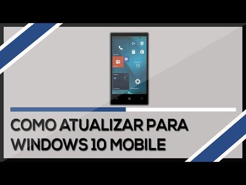 Como atualizar Lumia 520 para Windows 10 mobile