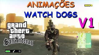 DOWNLOAD ANIMAÇÕES WATCH DOGS v1 (Anim ,ped ifp) By Maxi Ponce GTA SAN ANDREAS FULL HD 1080p