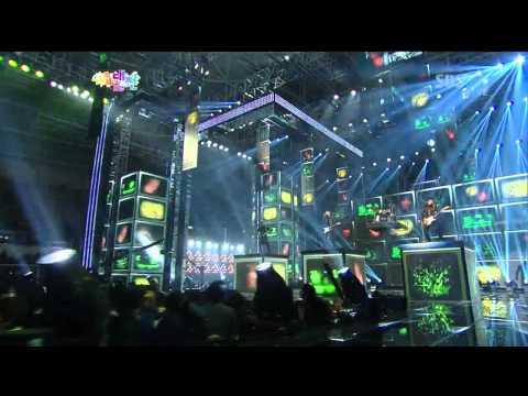 씨엔블루 (CNBLUE) [Hey you] @SBS 2012 가요대전 The Color of K-pop 20121229