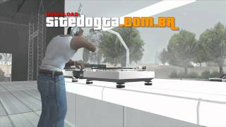 CJ The DJ - Mod Cleo 3 - GTA San Andreas