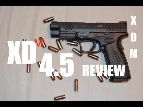 Review: Springfield Xdm 4.5 in 40 S&W