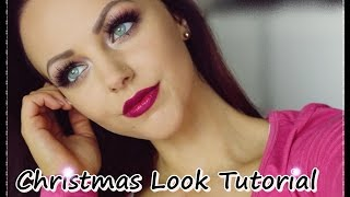 Christmas Schmink Look Tutorial
