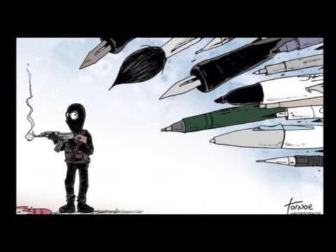 Attentat Charlie Hebdo - Hommage aux victimes musique et paroles par Monro