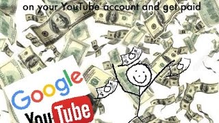How To Get Ads On Your Youtube And Get Paid  Part 1  (Setting up Adsense)