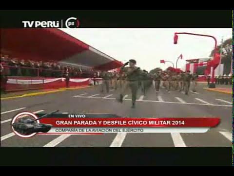 Presentación del Ejército en la Gran Parada Militar