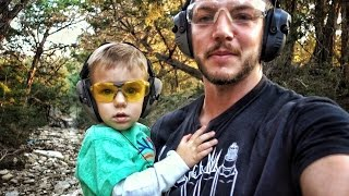 Shooting With My 2 Year Old