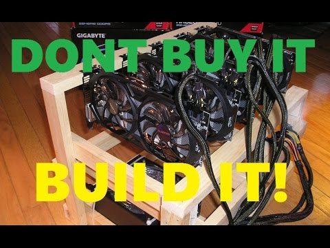 Dont buy GPU rigs! Build them!