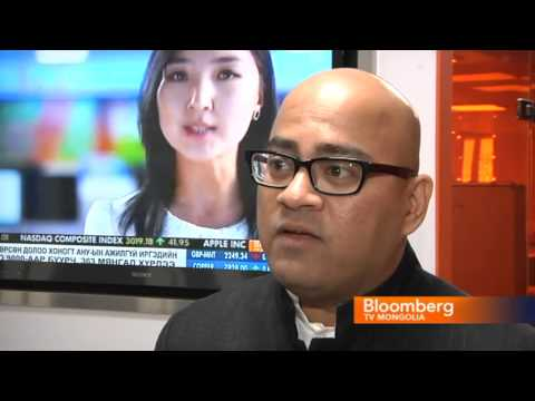 Mario Singh interviewed on Bloomberg TV Mongolia
