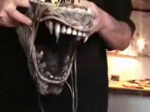 Alien Animatronic mandibles