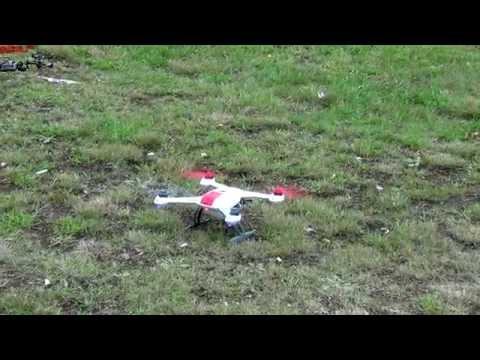 Blade 350 QX Acrobatic Agility Mode and Return to Home demo