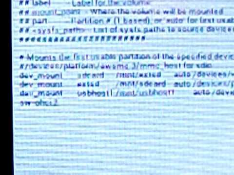 Usar memória externa do tablet genesis GT7200