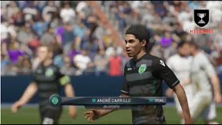 Real Madrid vs Sporting CP All Goals & Highlights Fifa 16 Gameplay
