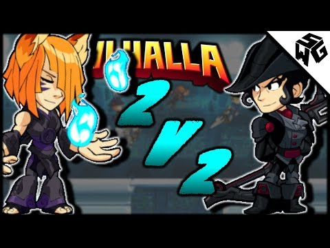 Road to Diamond Ranked Yumiko 2v2's w/Kirill- Brawlhalla Gameplay :: So Close!