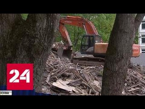 Жители Покровского-Стрешнева пытаются остановить точечную застройку