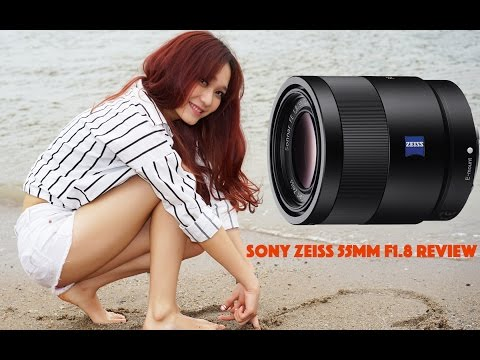 Sony Zeiss 55mm F1.8 Review 4K