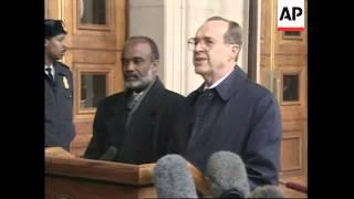 New Haitian President Rene Preval Visit to United States