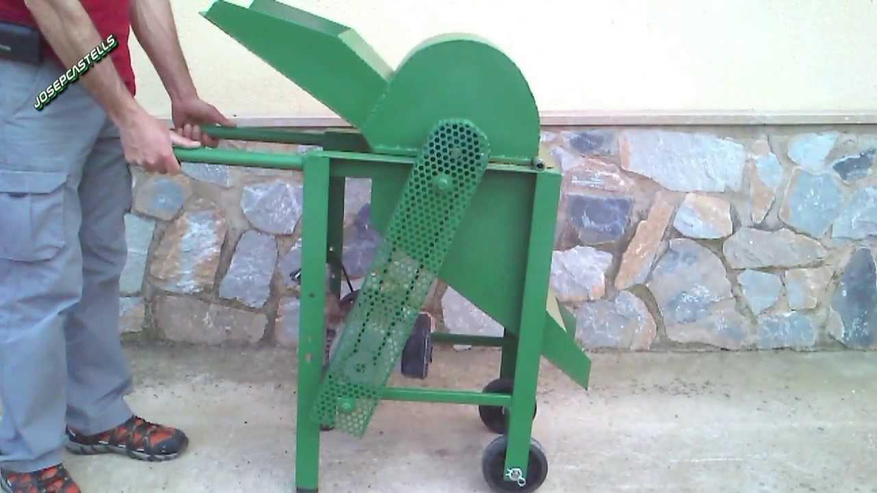 Molino de martillos casero youtube - Trituradora de ramas casera ...