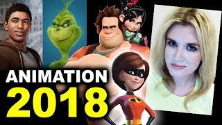 Animated Movies 2018 - The Incredibles 2, The Grinch, Wreck It Ralph 2, Miles Morales Spider-Man