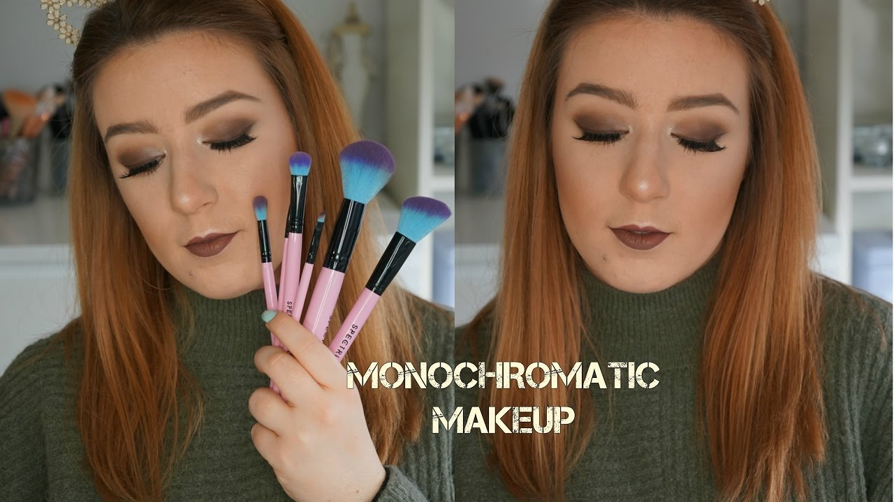 Monochromatic makeup