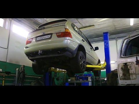 БМВ Х5. Как потратить 150 000 / BMW X5. First Service OLD CAR
