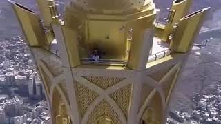 Ariel view of kaaba'h
