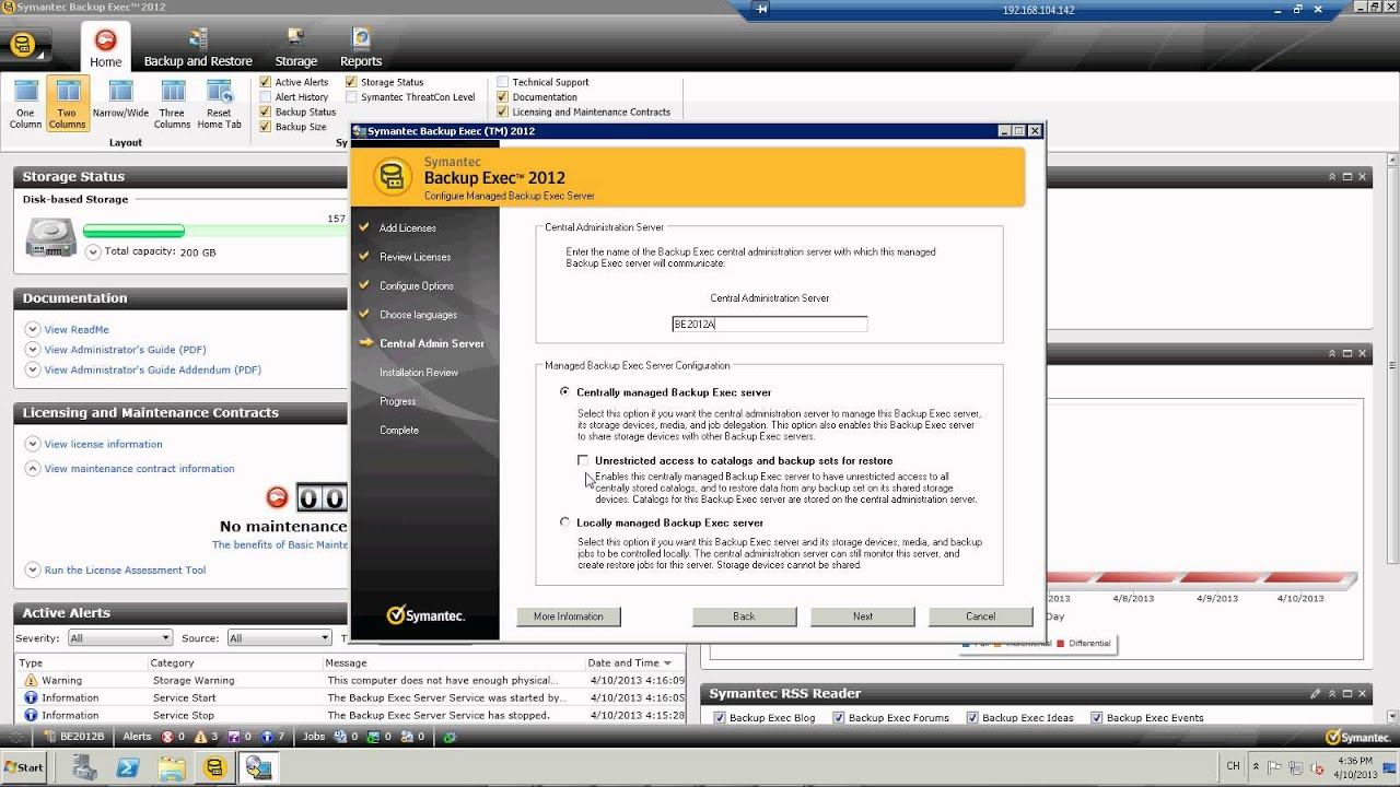 Inventory, users, helpdesk (axence software)