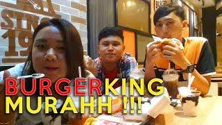 MAKAN PROMO BURGER KING MURAHH !!!