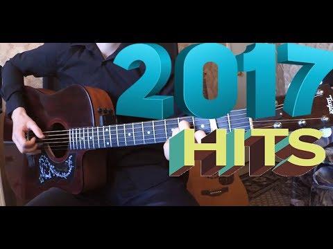 Популярная Музыка 2017 на гитаре
