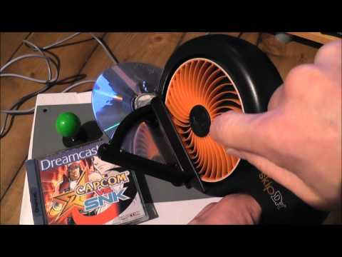 DIY Disc Repair - Fix Scratched Games. DVDs and CDs - Resurfacing Tool