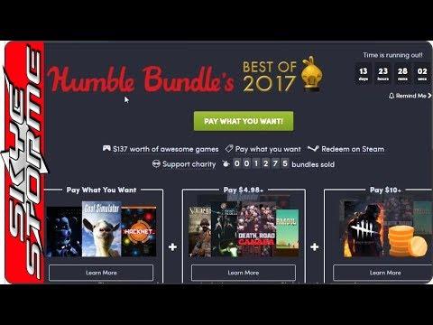 Humble Best Games of 2017 Bundle PLUS Grand Theft Auto Bundle! Pick up a bargain!