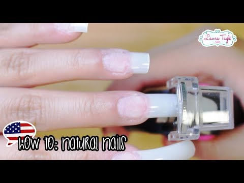 Beginners Acrylic Nails: Natural Tip aplication