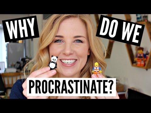 WHY do we PROCRASTINATE?! (explained with LEGO)  Science of Study BONUS VIDEO