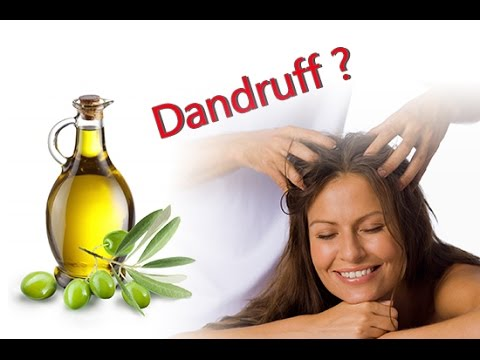 How to cure dandruff with Coconut oil