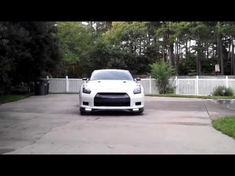 GT-R Life Philips 8-LED Daylight Running Lights Installed 12824WLEDX1