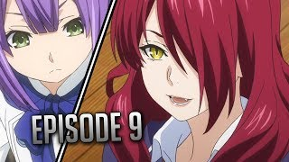 Takumi Spitting Fire - Food Wars: Shokugeki no Soma Season 3 Episode 9 Anime Review