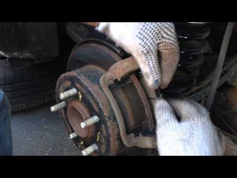 how to replace/change brake pads from Hyundai Elantra 2010-2013