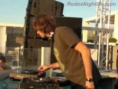 Hernan Cattaneo @ Paradiso Beach Club 2009 - Rhodes (Rhodos, Rodos) Island - Greece