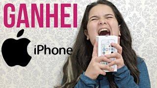 MEUS PRESENTES DE ANIVERSARIO GANHEI MEU iPHONE - VEDA #25
