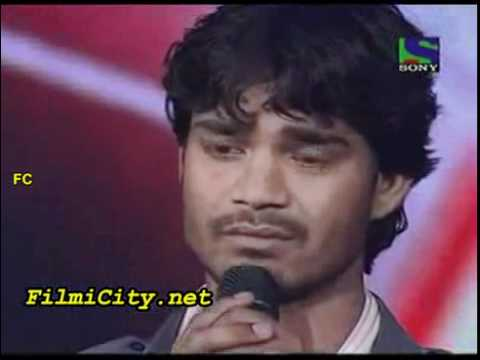 Sonu Nigam Gets Emotional From Visal Srivastav Singing.mp4 video