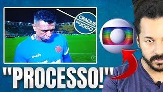 """Sidão, PROCESSA A GLOBO! Goleiro do Vasco é envergonhado em rede nacional - O """"craque"""" do jogo"""