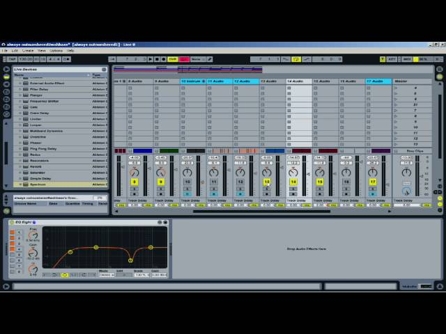 Ableton Tutorial: Spectrum plugin and fighting EQ's