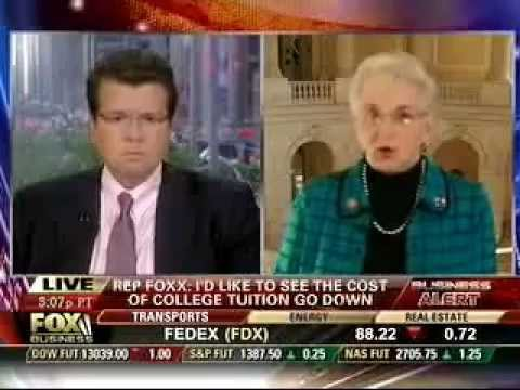 Congresswoman Virginia Foxx Talks with Neil Cavuto on FOX Business about Student Loans