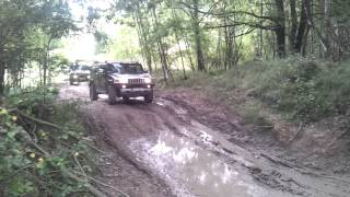 3x Hummer H2 off road in Milovice IV.