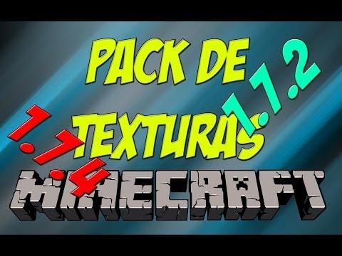 5 Pack de Texturas para Minecraft 1.7.2 y 1.7.4   Español