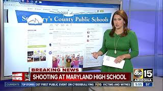 BREAKING: Shooting reported at Maryland school