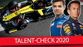 Der ultimative Talent-Check - Formel 1 2020 (Talk)